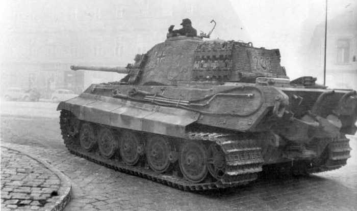 Tigre Henschel Front Est